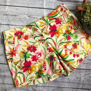 J.Crew tropical print short